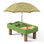 Step2 zand- en watertafel met parasol